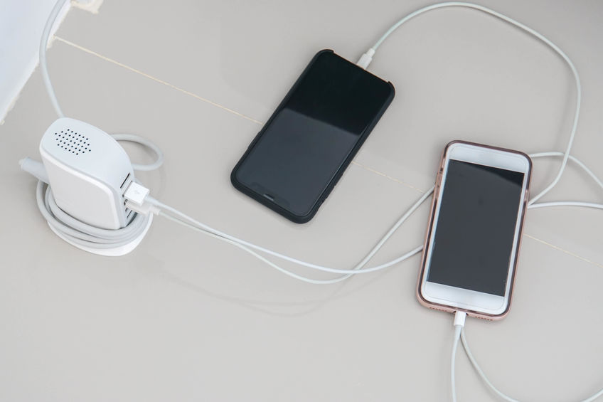 smart mobile phone charge battery with USB hub